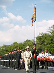 PB028870 (giftschen) Tags: thailand army bangkok ceremony royal thai tradition cremation