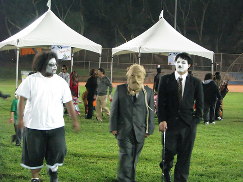 err..scarecrow and chaplin and...?