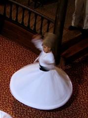 More whirling dervishes. (Praziquantel) Tags: turkey dance sema bursa whirlingdervishes