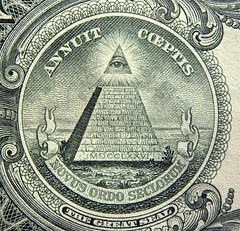 The Great Seal (Hammer51012) Tags: macro eye one 1 bill pyramid olympus dollar 1776 thegreatseal sp550uz