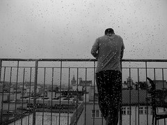 transparencies... (jonibgd) Tags: sky rain delete10 skyline delete9 delete5 delete2 blackwhite prague delete6 delete7 balcony save3 delete8 delete3 praha delete delete4 save save2 save4 save5