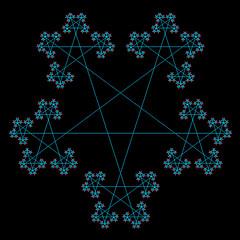 Star Fractal 5 por ! Polyhedra !
