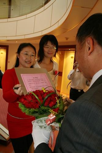 你拍攝的 20081110GeorgeEnya迎娶119.jpg。