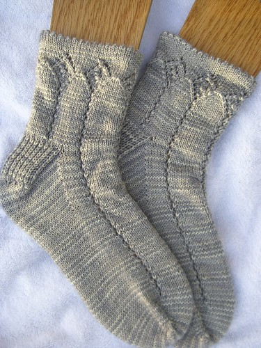 Alana Toe-Up Socks