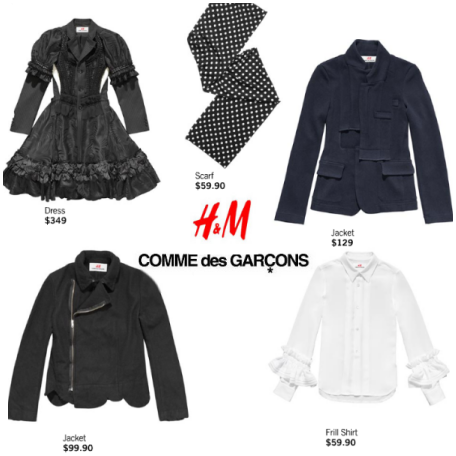 Comme des Garçons for H&M is here! The 5 key items worth ...