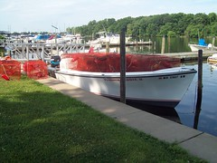 Before the canopy (Waterman193) Tags: fisherman maryland flats commercial waterman chesapeake workboat crabber deadrise