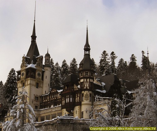 Peles Castle in full glory
