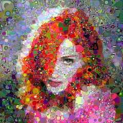 Queen of colors (Village9991) Tags: people topv555 topv333 colorful mosaic madonna topv999 mosaics photomosaic points dancefloor pops confession ciccone anawesomeshot theunforgettablepictures village9991 graphicmaster
