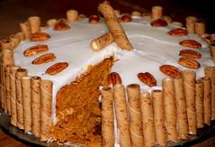 Sweet, sweet, sweet, could ya taste it? (Tea Wells) Tags: thanksgiving cake pumpkin sweet explore inxs blueribbonwinner tasteit flickrsbest abigfave sweetsweetsweet theperfectphotographer goldstaraward qualitypixels