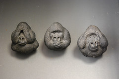 See no evil, speak no evil, hear no evil...