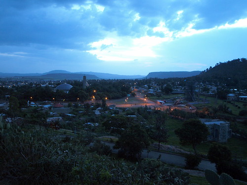 Noche en la tierra de la reina de Saba. Axum (Etiopía)