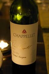"""2001 Chappellet """"Signature"""" Cabernet Sauvignon"""