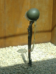The Fallen (James, G) Tags: dead memorial wwii helmet memory ww2 garand m1a1 usmemorial