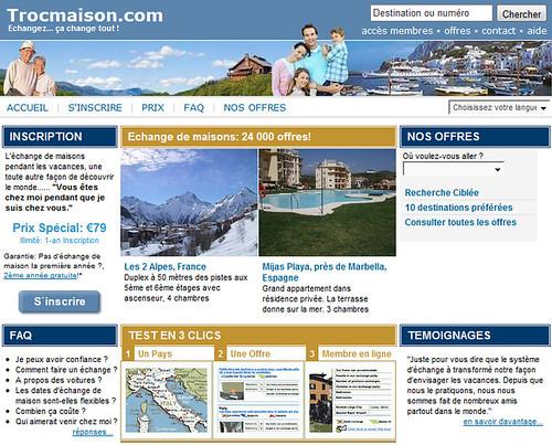 Trocmaison.com le couchsurfing français !