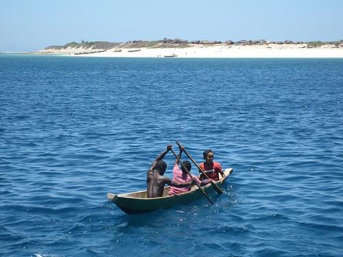 dugout log canoe Nosy Lava