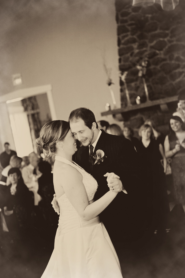 Melissa and Aaron- October 25, 2008