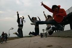 cai ten ao vang pha' dam' (Judy Tran) Tags: sun island san university yat cijin 06122008