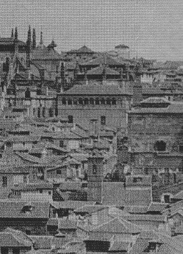Iglesia de San Lorenzo en caserío toledano.Hauser y Menet hacia 1900