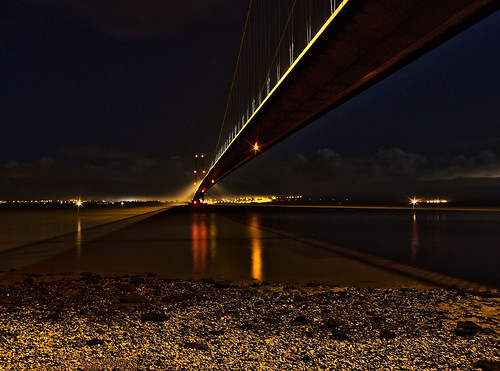 Humber Bridge Under The Deck HDR