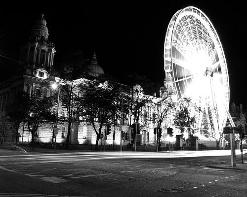 Belfast Wheel at Night