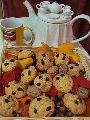 cookies airelles et courges+thé.jpg