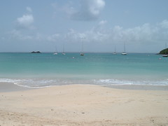Beach at L'Anse Marcel, Saint Martin, F.W.I.