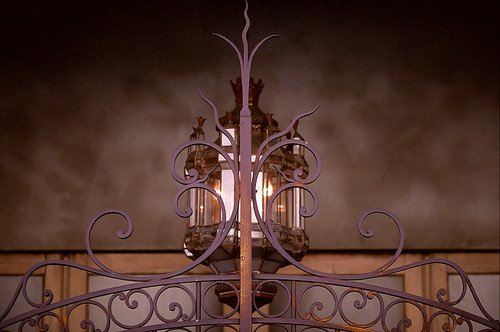 Gate and Lamp