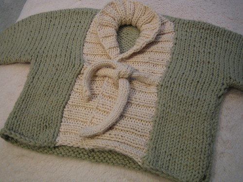 Ribbed Baby Sweater