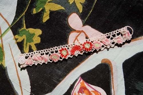 emma cassi, bracelet fleurs japonaises