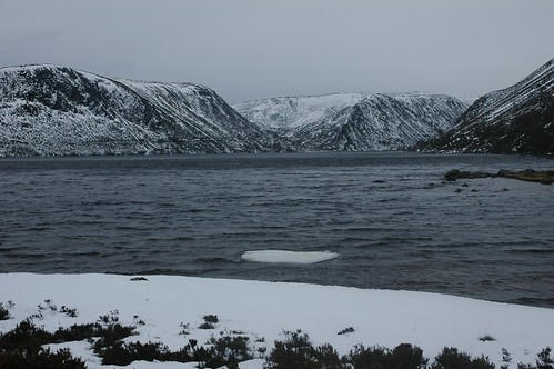 Looking toward the head of Loch Muick