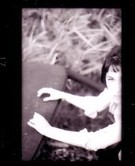 Eva 1998 Williamsburg Brooklyn (jamie lou) Tags: nyc portrait bw ny brooklyn 35mm eva williamsburg 1998 wayback thewaterfront evalevinson longlostart