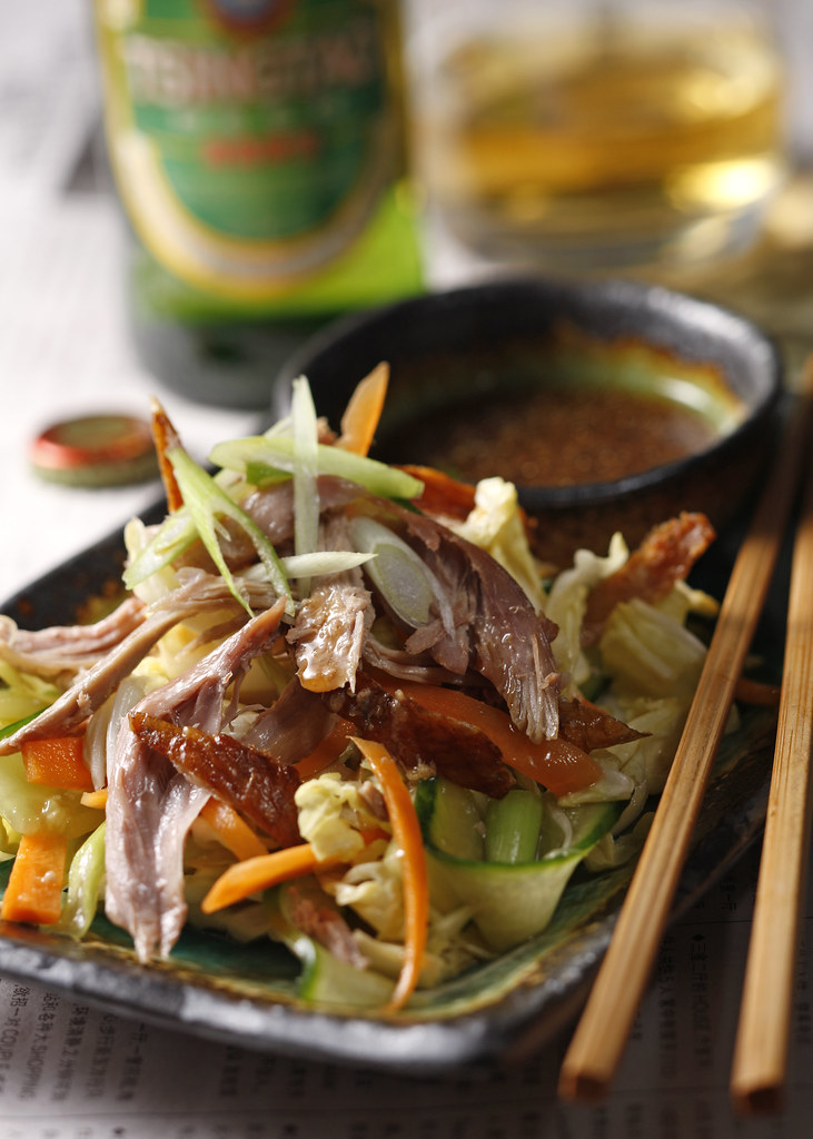 :: Open Aromatic Duck Salad