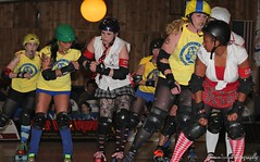 (Super D-Light) Tags: underground dolls roller diva derby league toxic253
