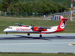 D-ABQE De Havilland Canada DHC-8-402 (Jersey Airport Photography) Tags: canada berlin de air jer jersey dhc8 havilland egjj dabqe