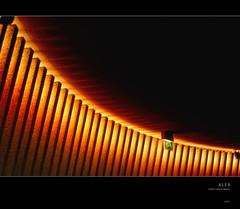 ||| (fraghorst) Tags: lights licht fernsehturm exit notausgang