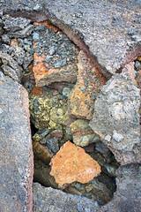Colors of Lava Strata (ken mccown) Tags: nature hawaii lava bigisland geomorphology volcanoesnationalpark