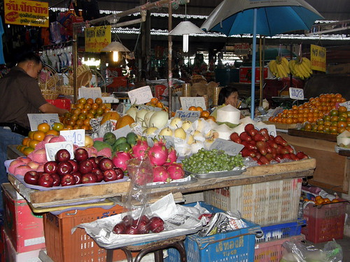 Fruit in Chiang Mai market