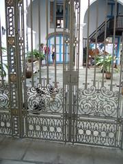 Casa de Lombillo的漂亮鐵門