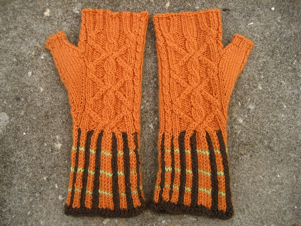 Mitten Swap Mitts - Cables