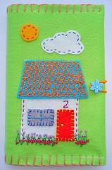 bloquinho 77 (Bordados DaAna®) Tags: notebook embroidery journal capa felt cover feltro applique bordado aplique broderie feutrine fieltro pannolenci blocodenotas daana