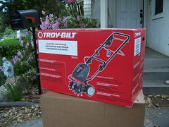 Troy-Bilt Electric Cultivator