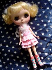 Custom Blythe Prima Dolly Saffy