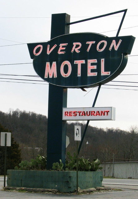 Overton Motel Sign