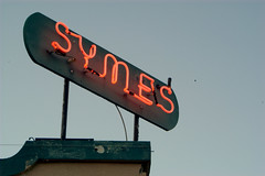 Symes Sign (Matthew Boulanger) Tags: hot sign montana springs symes