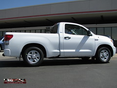 A Toyota Tundra with a 2