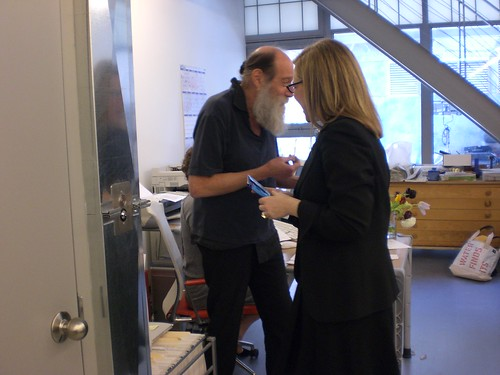 A Magical Day with Lawrence Weiner