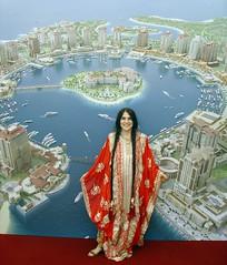 Me in a sumptuous red dress from Qatar (olga_rashida) Tags: red costume cloth fancydress soe qatar blueribbonwinner supershot aplusphoto colourartaward goldstaraward festkleid qatargermanopen culturalgarmentsofqatar