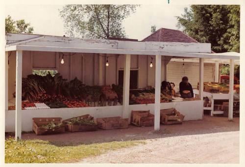 1970s Essex County Produce Stand