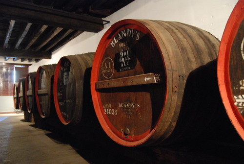 Madeira wine kegs, Old Blandy's Wine Lod by Paul Mannix, on Flickr