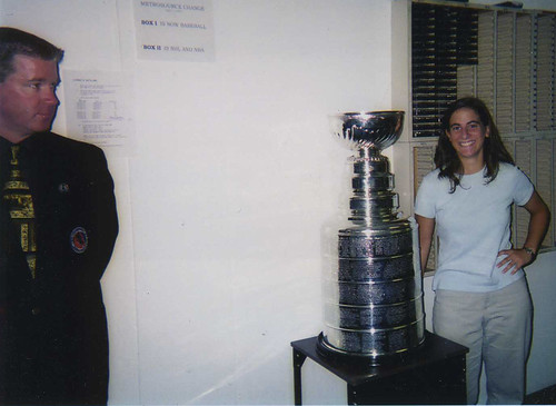 Julie and the Stanley Cup